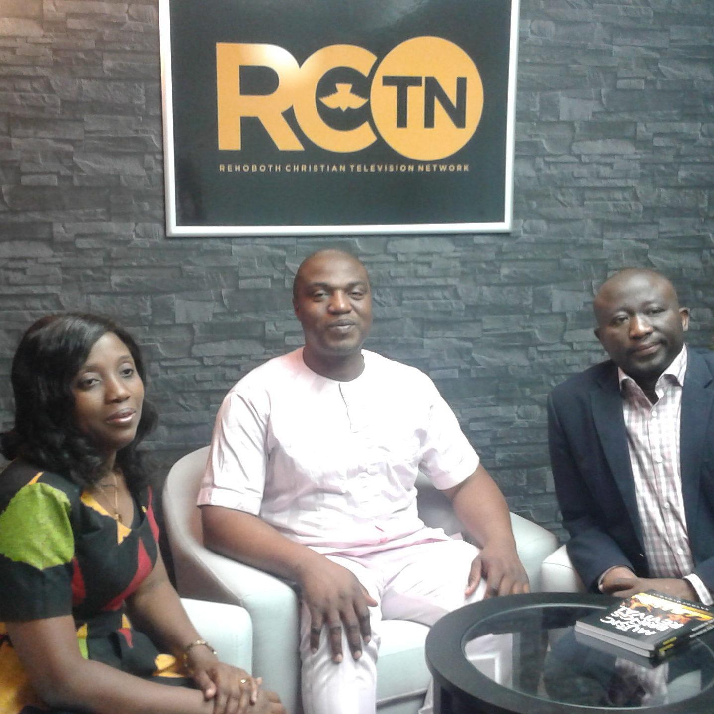 Kayode Olusoji and Pastor Toks Balogun