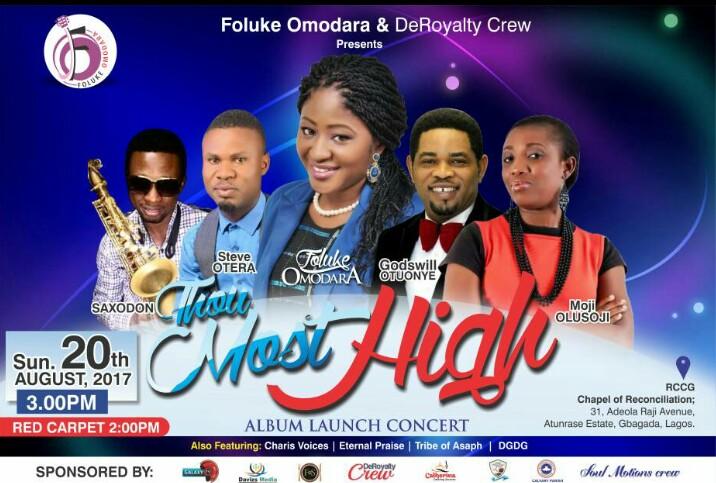 Foluke Omodara Album Launch