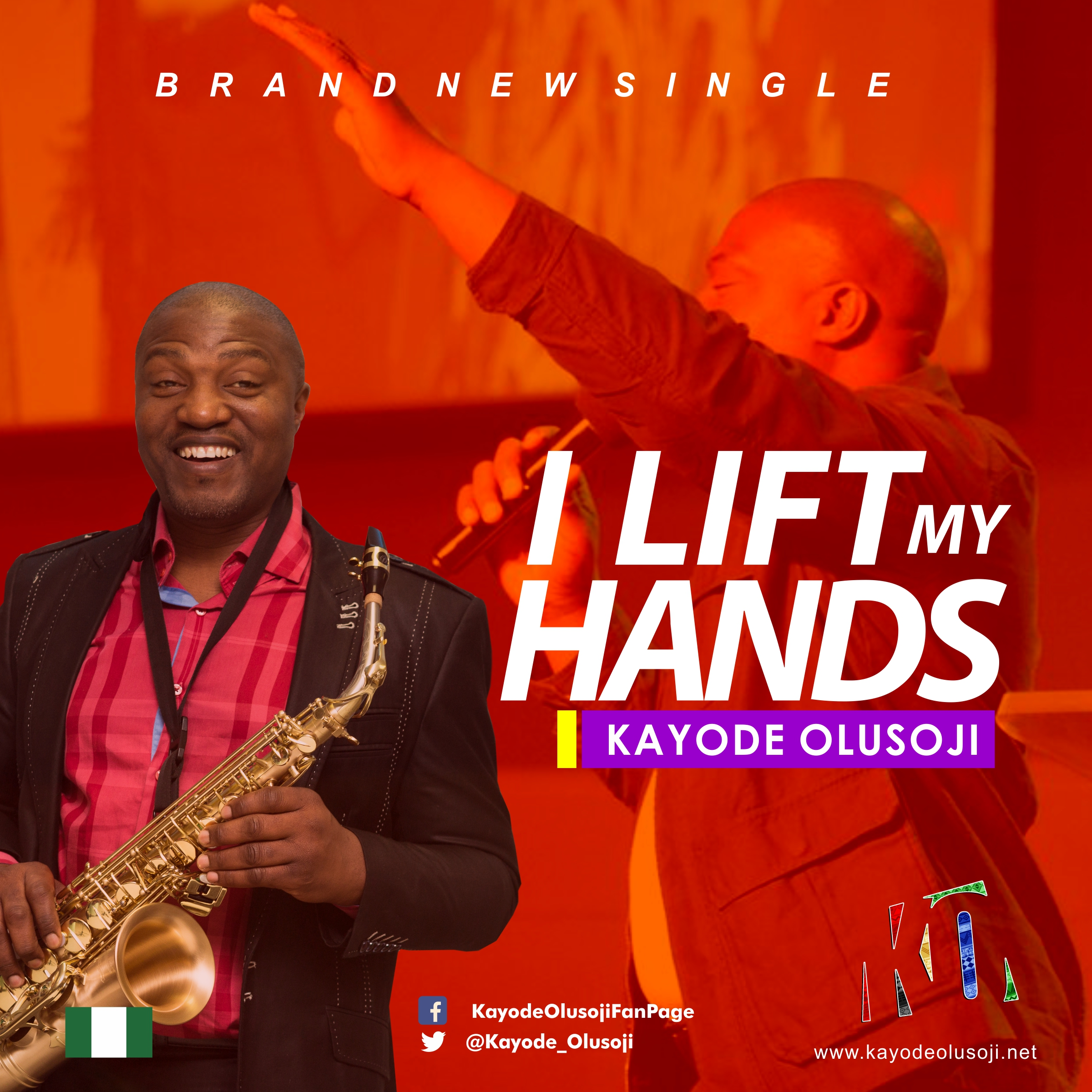 I Lift My Hands - Kayode Olusoji
