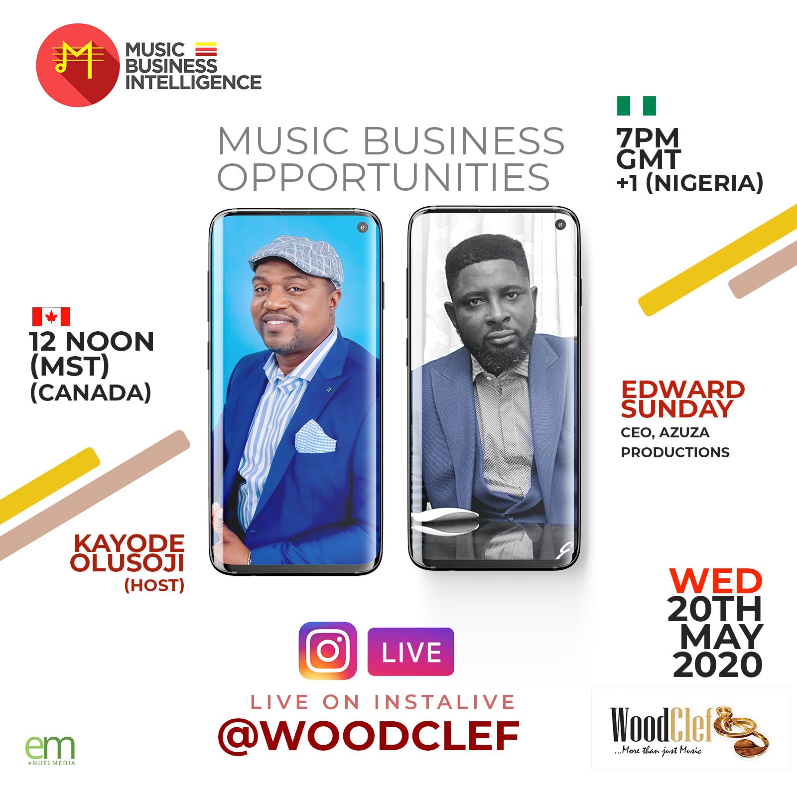 Music Business Intelligence by Kayode Olusoji featuring Edward Sunday